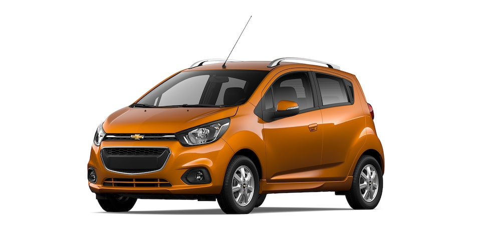 Chevrolet Beat HB 2021, auto hatchback en color ocre