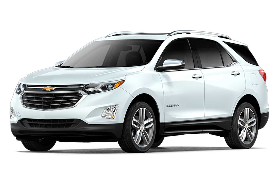 Chevrolet Equinox 2020, camioneta SUV en color blanco